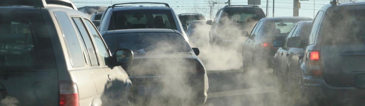 NOx og andre skadelige gasser og partikler