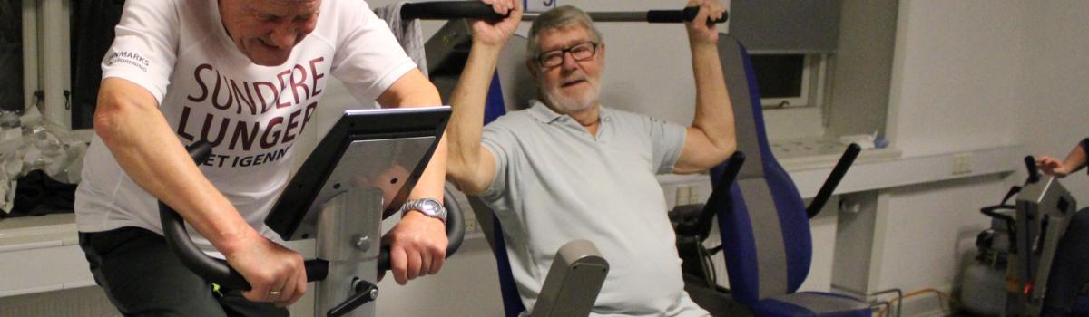 Fortsæt din træning efter KOL rehabilitering
