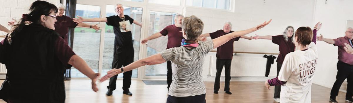 Øvelser og træning med KOL gør en forskel