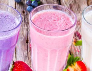 Hjemmelavede proteindrikke